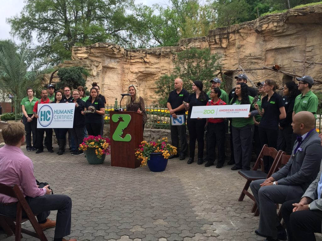 San Antonio Zoo Achieves Humane Certification For Animal